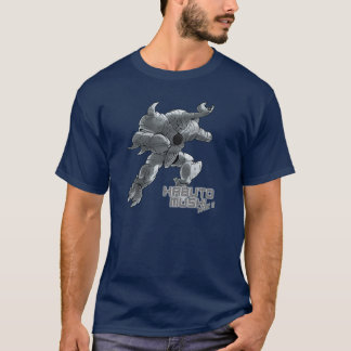 Kabuto Mushiの印IIのTシャツ(銀) Tシャツ