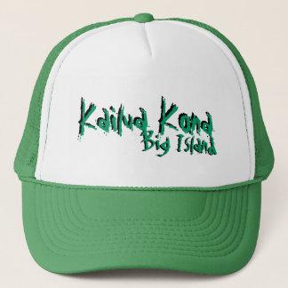 Kailua Konaの大きい島のハワイの緑の帽子 キャップ