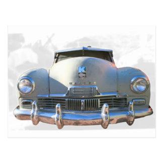 Kaiserのクラシックな自動車 ポストカード
