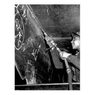 Kaiserの造船所、リッチモンドのCalif_Warのイメージ ポストカード