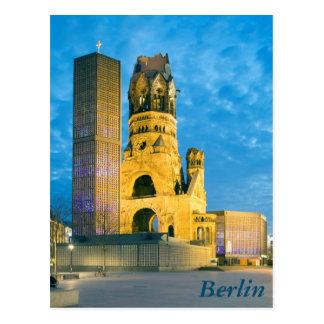 Kaiserウィルヘルムの記念教会、ベルリン ポストカード