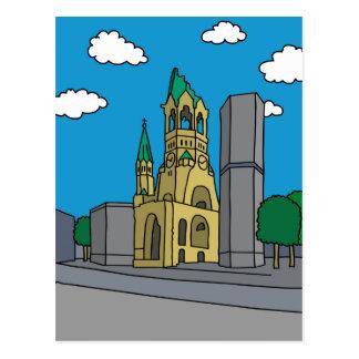 Kaiserウィルヘルムの記念物教会 ポストカード