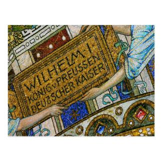 Kaiserウィルヘルム教会、ベルリンのペスト、モザイク・タイル ポストカード