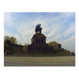 Kaiserウィルヘルム、Deutsches Eck、コブレンツ、ドイツ ポストカード