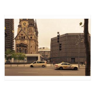 KaiserウィルヘルムGedächtniskirche ポストカード
