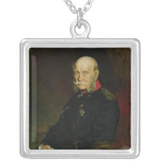 KaiserウィルヘルムI 1888年 シルバープレートネックレス