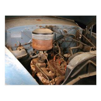 Kaiser Frazerの古い6本のシリンダーエンジン ポストカード