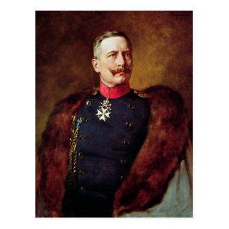 Kaiser Wilhelm IIのポートレート ポストカード