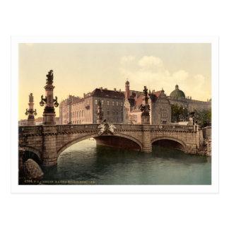 Kaiser Wilhelms橋、ベルリン、ドイツ ポストカード