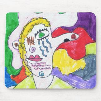Kaitlynエリザベスのオリジナルのアートワーク マウスパッド