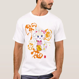 kaiun mori-Maneki nekoA Tシャツ