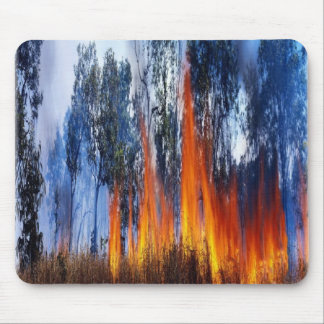 Kakadoの国立公園の火、mousepad マウスパッド