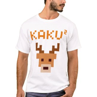 kakukaku shikajika tシャツ