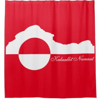 Kalaallit Nunaat Sikuat (グリーンランドの氷山) シャワーカーテン