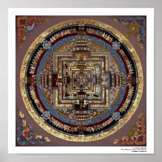 Kalachakraの曼荼羅ポスター ポスター