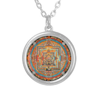 KALACHAKRAの秘密の曼荼羅III シルバープレートネックレス