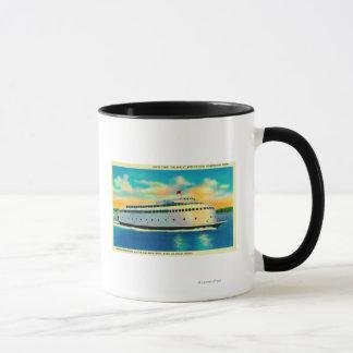 Kalakalaフェリー、流線形になる世界第1 マグカップ