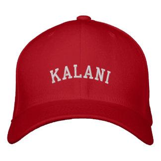 Kalaniの《鳥》ハヤブサは帽子に合いました 刺繍入りキャップ
