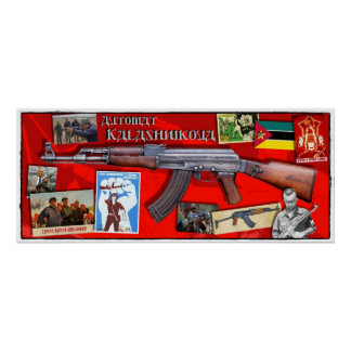 Kalashnikova ポスター
