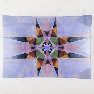 Kaleidescopicの動揺してな水彩画のペルシャの星2 トリンケットトレー