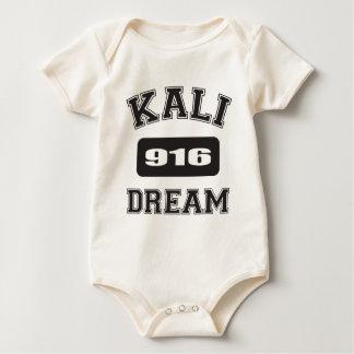 KALIの夢の黒916.png ベビーボディスーツ
