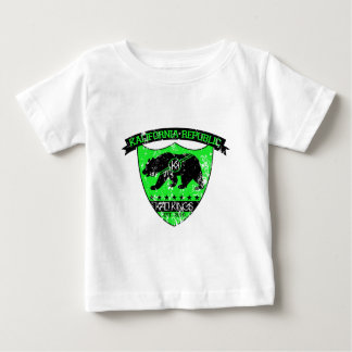 Kali共和国の盾の緑 ベビーTシャツ