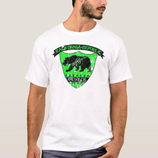 Kali共和国の盾の緑 Tシャツ