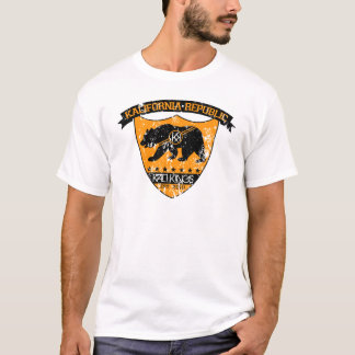 Kali共和国の盾orange.png Tシャツ