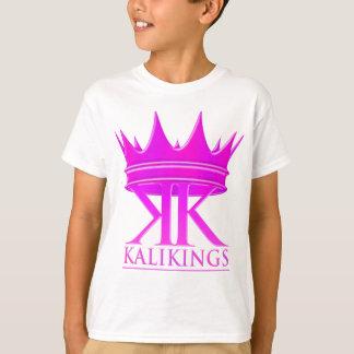 Kali王の王冠のロゴの紫色 Tシャツ