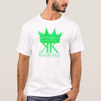 Kali王の王冠のロゴの緑 Tシャツ