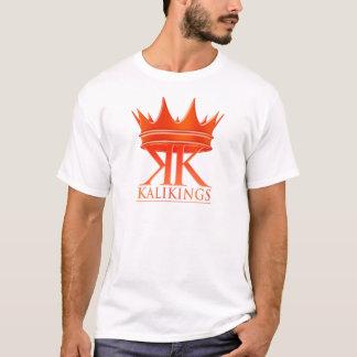 Kali王の王冠のロゴの赤 Tシャツ