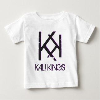 kali王の黒の背部purple.png ベビーTシャツ
