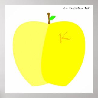 Kallixti Apple ポスター