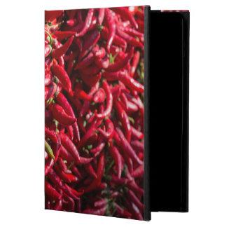 Kalocsaの町のぴりっとする赤い唐辛子 iPad Airケース