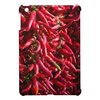 Kalocsaの町のぴりっとする赤い唐辛子 iPad Mini カバー