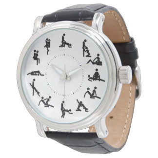 kamaのsutraはヴィンテージ革腕時計を計算します 腕時計