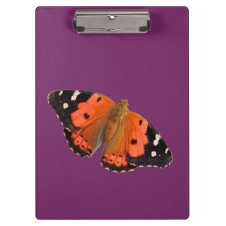 Kamehamehaの蝶デザインのクリップボード クリップボード
