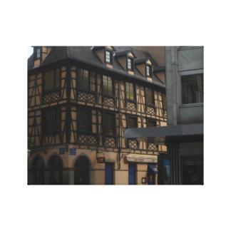 Kammerzellの家ストラスブールフランス キャンバスプリント