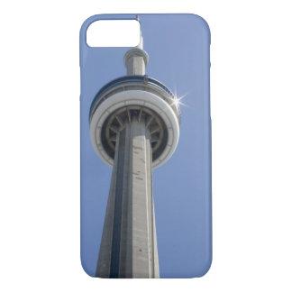 Kanada、オンタリオ、トロント。 SpitzeフォンKN-Turm mit iPhone 8/7ケース