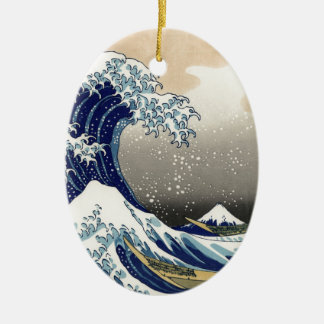 Kanagawaokinamiura, Hokusai | 神奈川沖浪裏 北斎 富嶽三十六景 セラミックオーナメント