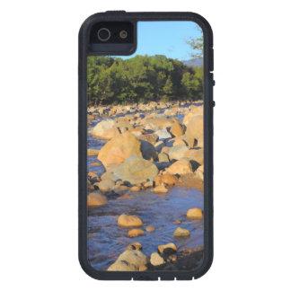 Kancamagusのハイウェーの水潜り鳥山のiPhone 5の場合 iPhone SE/5/5s ケース