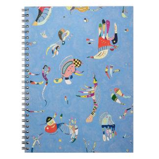 Kandinskyのスカイブルーのノート ノートブック