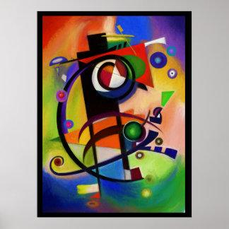 Kandinskyのスタイル ポスター