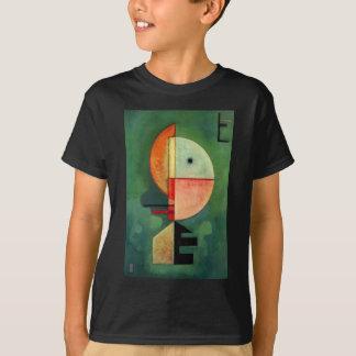Kandinskyの上向きの抽象的な絵画 Tシャツ