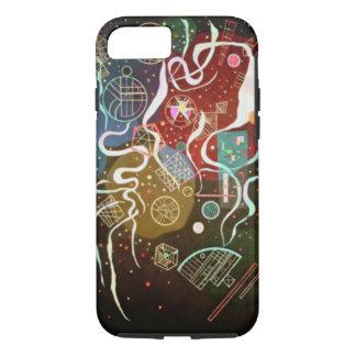Kandinskyの動き私は絵画を抽出します iPhone 8/7ケース