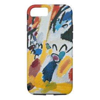 Kandinskyの印象IIIコンサートの抽象的な絵画 iPhone 8/7ケース