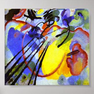 Kandinskyの即興26 (オール) ポスター