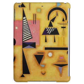 Kandinskyの抽象的で決定的なピンクの幾何学的な形