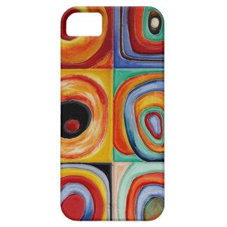 Kandinskyの抽象美術 iPhone SE/5/5s ケース