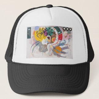 Kandinskyの支配的なカーブの抽象芸術 キャップ